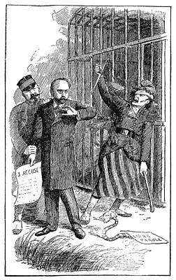 Emile Zola (1840-1902) Print by Granger