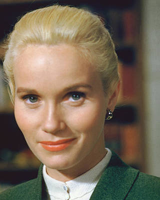 Eva Marie Saint Print by Silver Screen