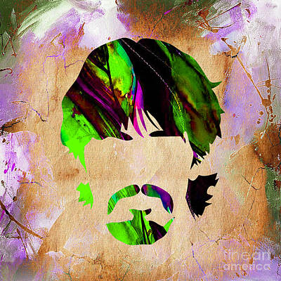 Pop Mixed Media - George Harrison Collection by Marvin Blaine