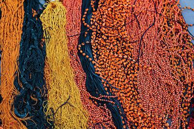 Necklace Photograph - India, Odisha, Subarnapur District by Alida Latham