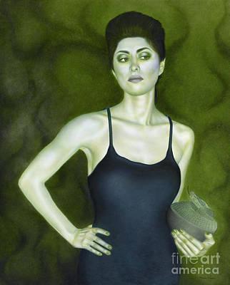 7 Invidia Print by Lorena Rivera