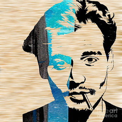 Johnny Depp Print by Marvin Blaine