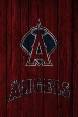 Present Photograph - Los Angeles Angels by Joe Hamilton