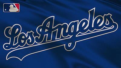 Baseball Uniform Photograph - Los Angeles Dodgers Uniform by Joe Hamilton