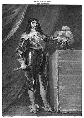 Breastplate Painting - Louis Xiii (1601-1643) by Granger