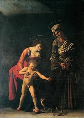 Merisi Michelangelo Known Print by Everett