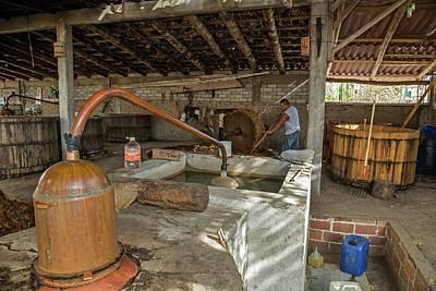 Mezcal Distillery Print by Jim West