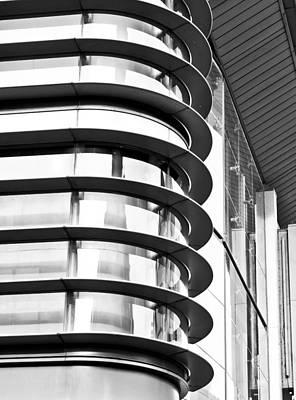 Modern Architecture Print by Tom Gowanlock