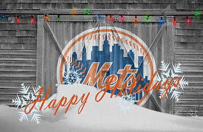 New York Mets Print by Joe Hamilton