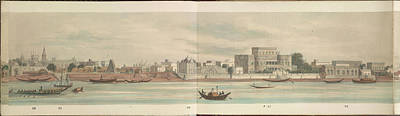 Bangladesh Photograph - Panorama Of The City Of Dacca by British Library