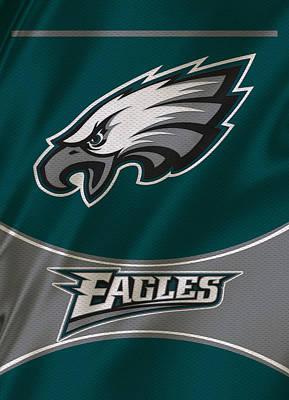 Philadelphia Eagles Uniform Print by Joe Hamilton