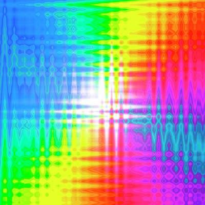 Prismatic Pattern Print by Mehau Kulyk