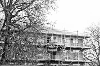 Working Conditions Photograph - Scaffolding by Tom Gowanlock