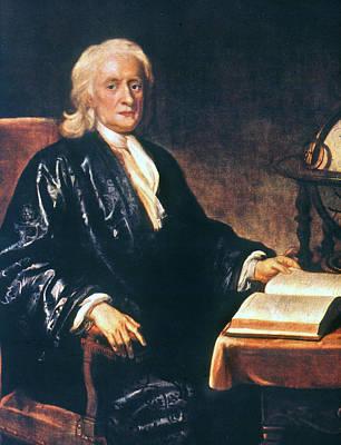 Isaac Newton Painting - Sir Isaac Newton (1642-1727) by Granger