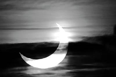 Solar Eclipse Print by Detlev Van Ravenswaay