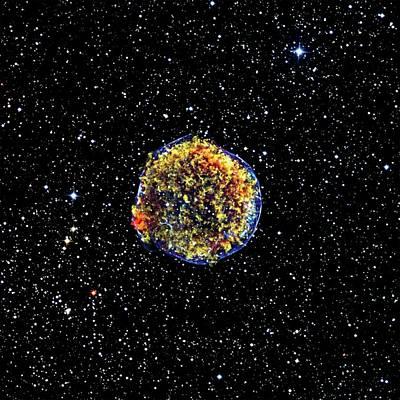 Shock Photograph - Supernova Remnant by Nasa
