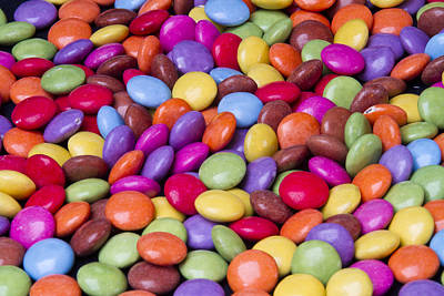 Allsorts Photograph - Sweets Candy by David French