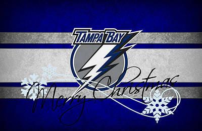 Tampa Bay Photograph - Tampa Bay Lightning by Joe Hamilton