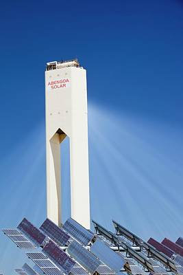 The Ps20 Solar Thermal Tower Print by Ashley Cooper