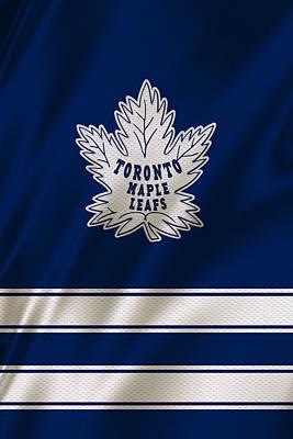 Maple Leaf Photograph - Toronto Maple Leafs by Joe Hamilton