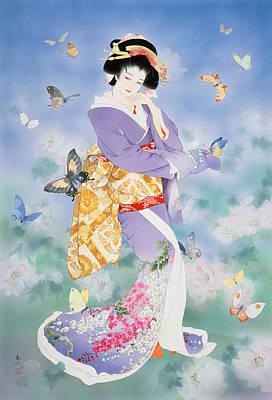 Lilac Photograph - Untitled by Haruyo Morita
