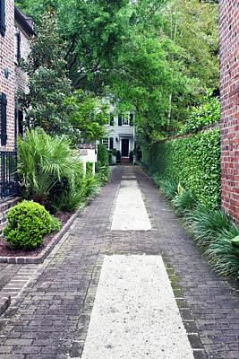 Antebellum Photograph - Usa, Sc, Charleston, Historic District by Rob Tilley