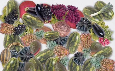 Broccoli Digital Art - Vegetable by Odon Czintos