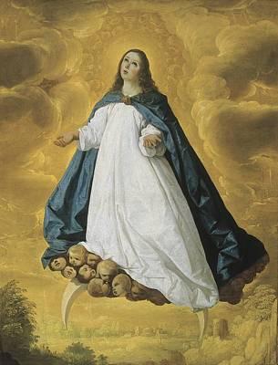 Immaculate Photograph - Zurbaran, Francisco De 1598-1664 by Everett