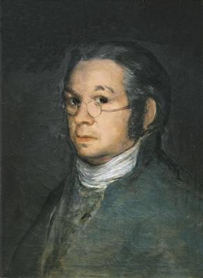 Self Portrait Photograph - Goya Y Lucientes, Francisco De by Everett