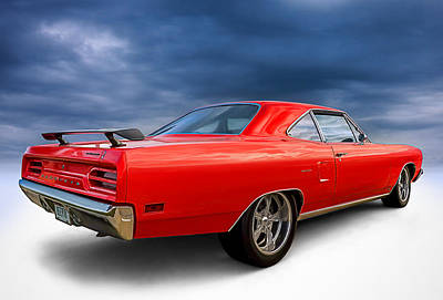 Roadrunner Digital Art - '70 Roadrunner by Douglas Pittman