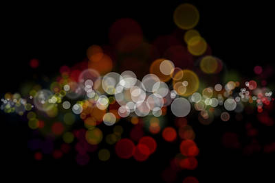 Celebrate Digital Art - Abstract Background by Les Cunliffe