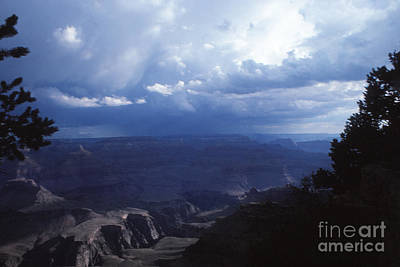Blueish Digital Art - 715 Sl Grand Canyon 15 by Chris Berry