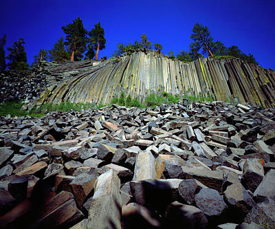 Devils Postpile Photograph - Usa, California, Sierra Nevada Mountains by Jaynes Gallery