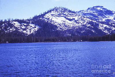 High Sierra Digital Art - 750 Sl Mountain Lake  by Chris Berry