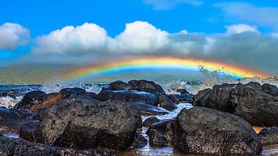 Hawaii Dog Photograph - Maui, Hawaii  by Ed Hadley
