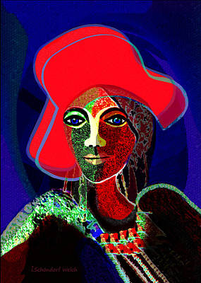 784 -   Red Hat   Print by Irmgard Schoendorf Welch