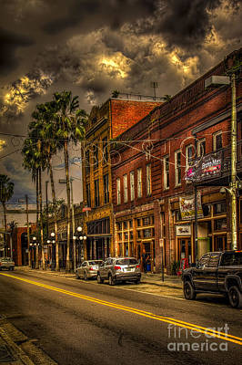 Ybor City Photograph - 7th Avenue by Marvin Spates