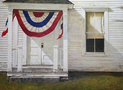 July Painting - 7th Of July by Stephen Hodecker