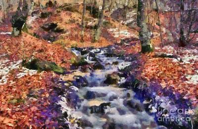 National Park Painting - Abruzzo National Park by George Atsametakis