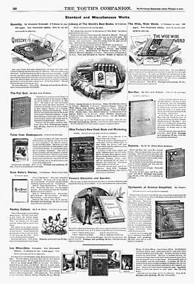 Ben Hur Painting - Advertisement Books, 1890 by Granger