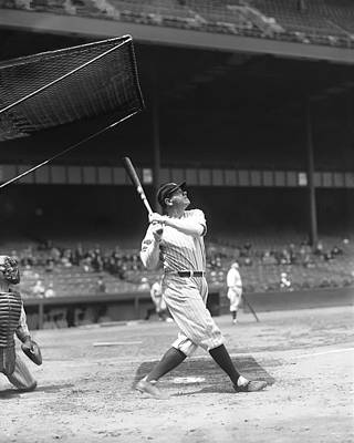 Ruth Photograph - Babe Ruth New York Yankees by Retro Images Archive
