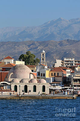 Greek Photograph - Chania City by George Atsametakis