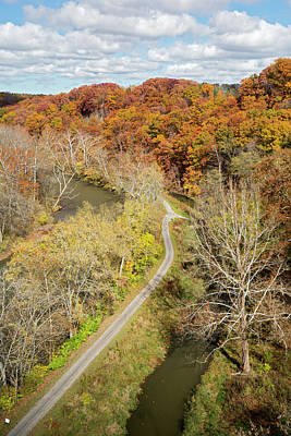 Cuyahoga Valley National Park Print by Jim West