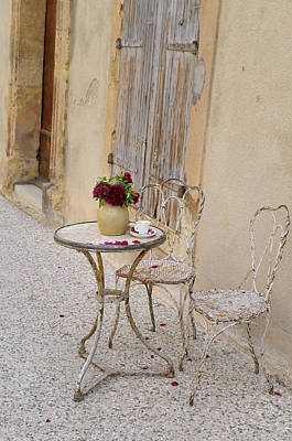 Europe Provence Lourmarin Photograph - France, Provence-alpes-cote D'azur by Kevin Oke