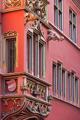 Haus Photograph - Germany, Baden-wurttemburg, Black by Walter Bibikow