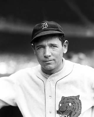 Detroit Tigers Photograph - Harry E. Heilmann by Retro Images Archive