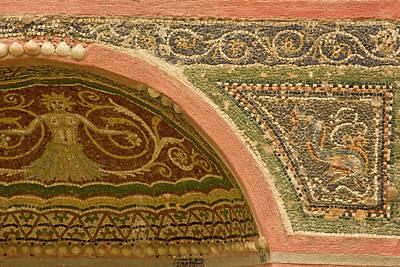 Mosaic Photograph - Italy, Campania, Pompeii by Jaynes Gallery