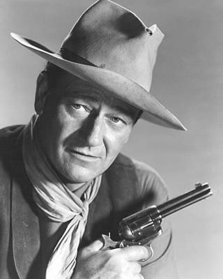 Duke Photograph - John Wayne by Retro Images Archive