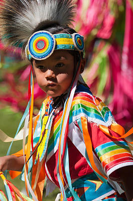 Pow Wow Photograph - Kamloopa Pow Wow by Peter Olsen