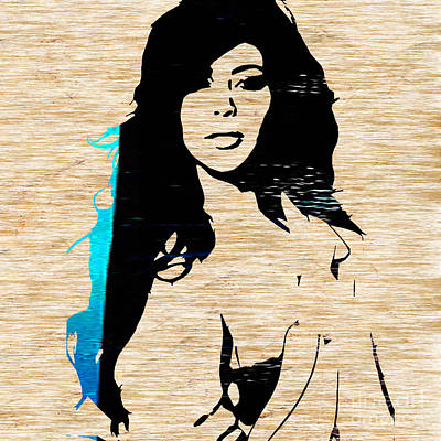Kim Kardashian Mixed Media - Kim Kardashian by Marvin Blaine